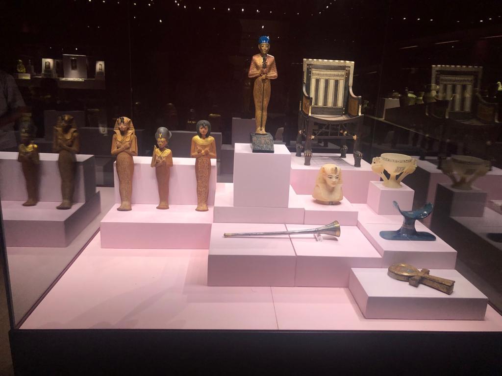 خلال أيام..افتتاح معرض -توت عنخ آمون- بمتحف الغردقة