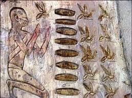 تصوير النحله (بيت) ورمزيتها في الفن المصري القديم