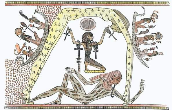 تصوير (سبا) ورمزيتها في الفن المصري القديم