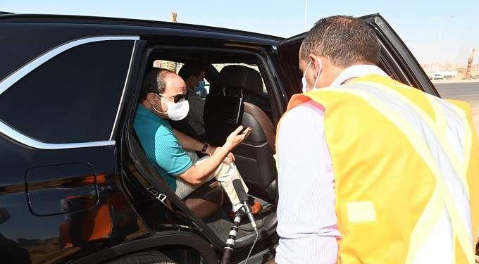 الرئيس يشدد علي الالتزام بقواعد الاجراءات الاحترازية والوقائية ضد فيروس كورونا
