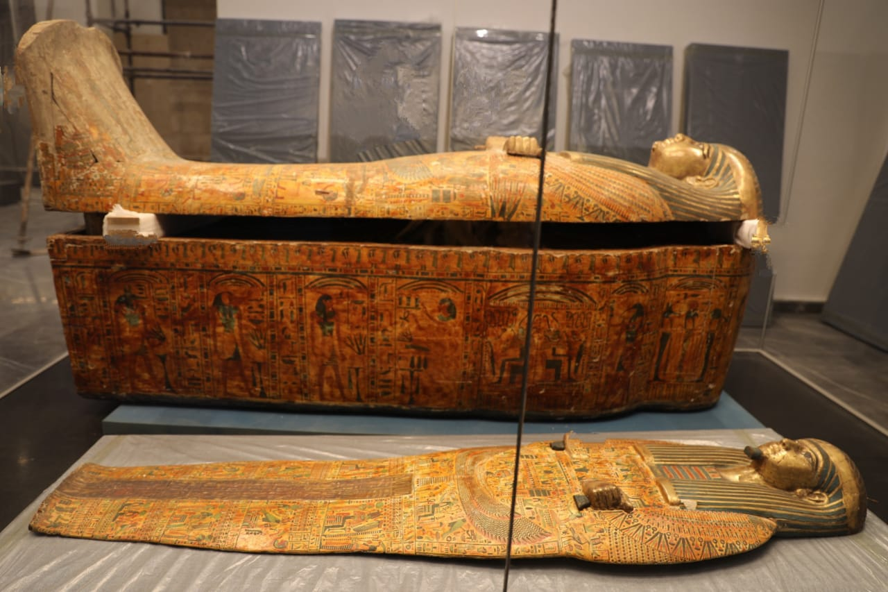 Priests of Amun go on display at the New Administrative Capital's Museum
