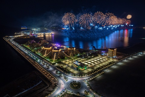 Ras Al Khaimah ushers in 2021 with one of the world's largestط¢آ fireworks displays inspiring hope and confidence