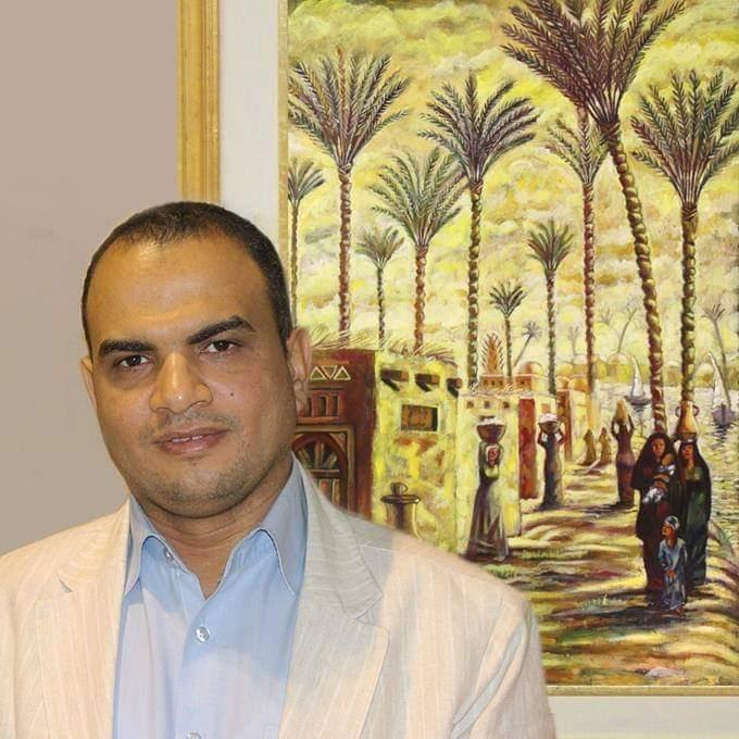 الفنان والكاتب عبد العزيز السماحي