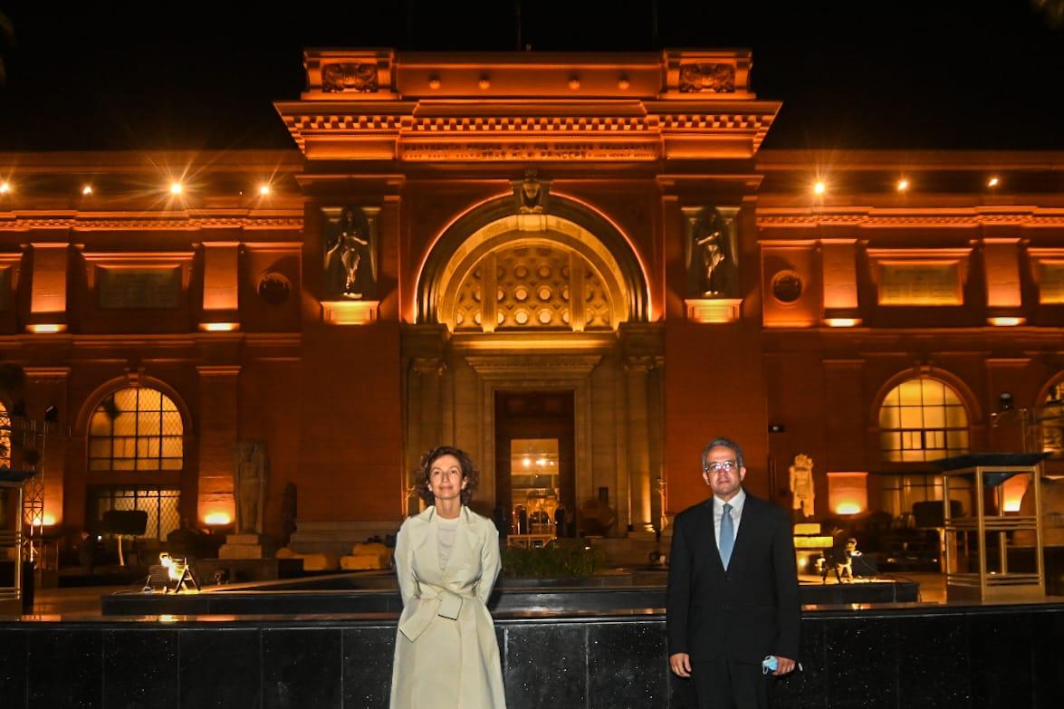 اليونسكو تشارك مصر فى احتفالية موكب المومياوات الملكية