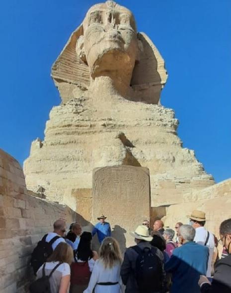 """غدا.. """"حواس"""" يلتقى وفد أسبانى يضم"""" أصغر محاضرة للتاريخ الفرعونى """"فى العالم"""