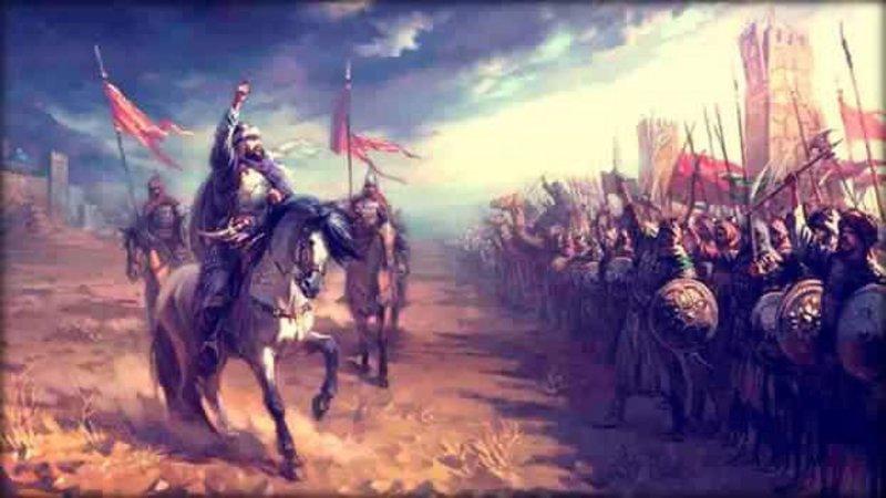 هكذا واجه المسلمون -فرسان وفيلة- 150 ألف مقاتل فارسي في معركة -البويب-