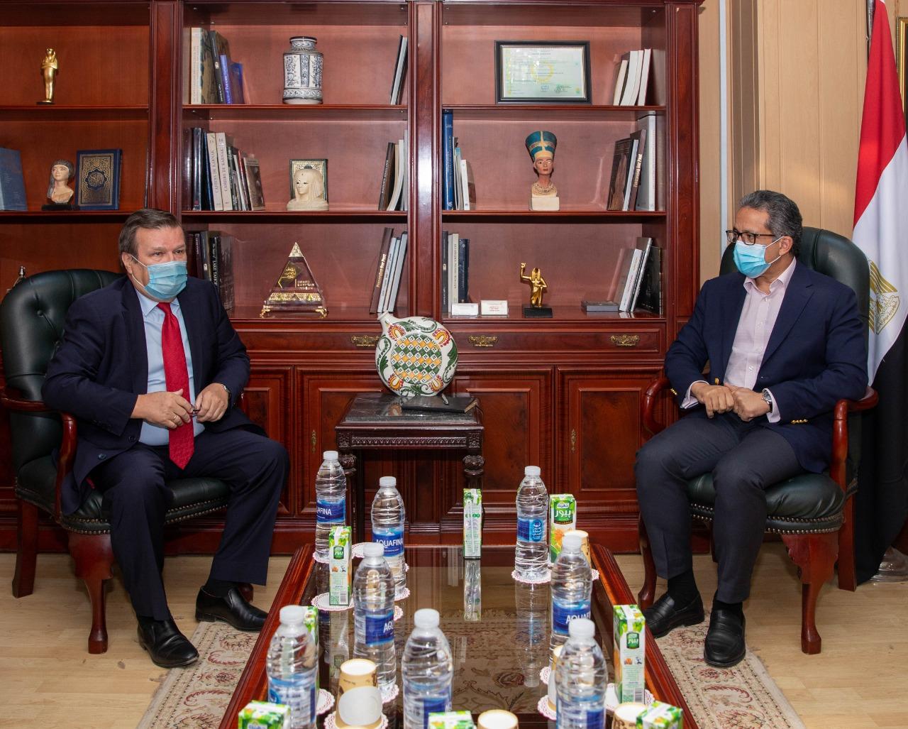 مصر و أوكرانيا يبحثان سبل تعزيز التعاون السياحي
