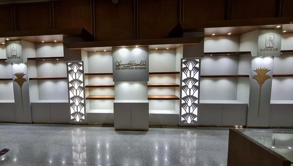 افتتاح المنفذ الثاني لمصنع المستنسخات الأثرية بالمتحف المصري..قريبا