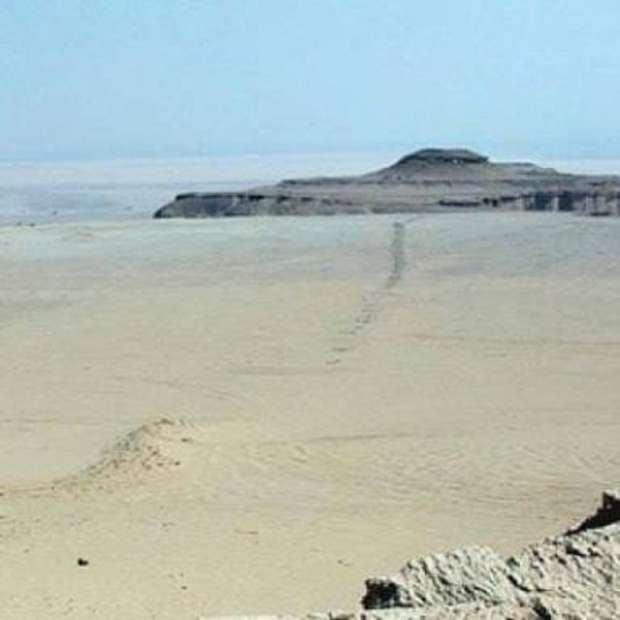 بازلت ودان الفرس وأقدم طريق محاجر في العالم