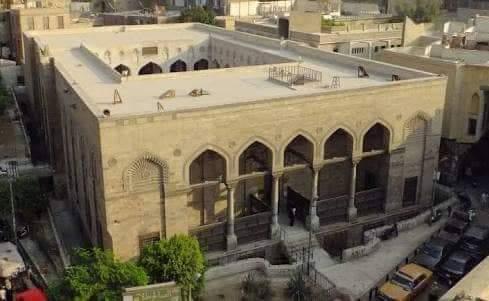 الصالح طلائع .. المسجد المعلق الذي بني لرأس الحسين