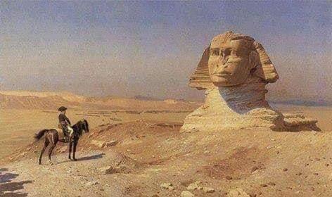 رحلتي مع تمثال أبو الهول