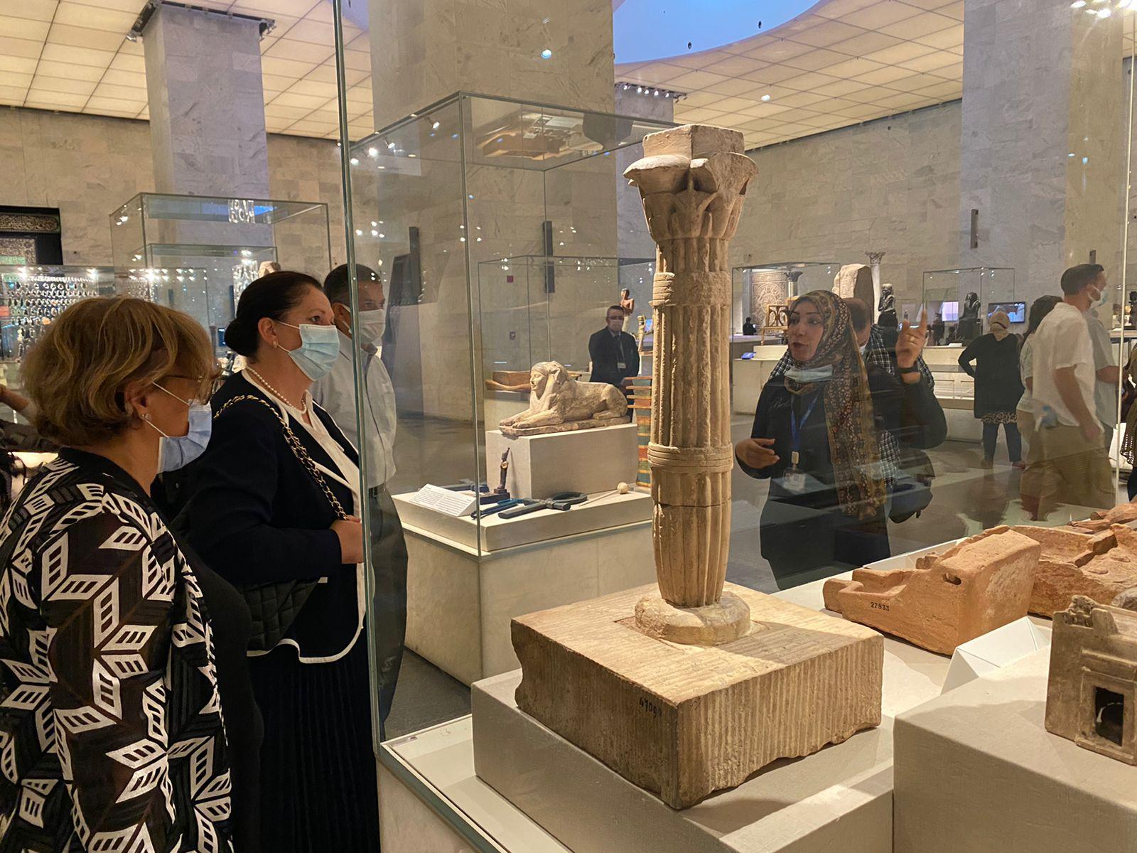 متحف للحضارة يستقبل الأمين العام المساعد للأمم المتحدة