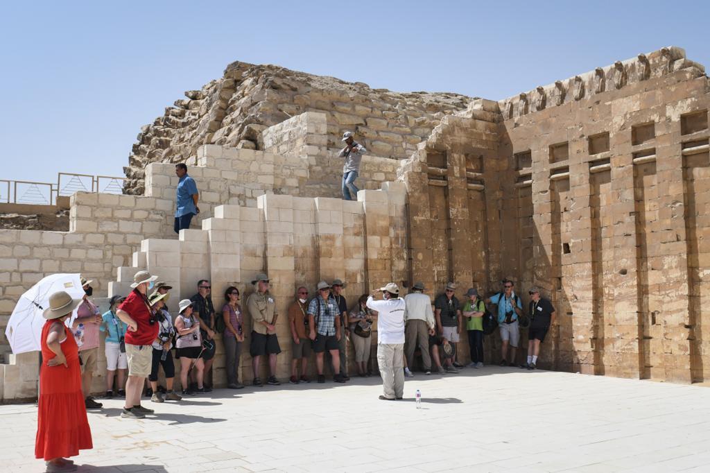 افتتاح المقبرة الجنوبية للملك زوسر بسقارة