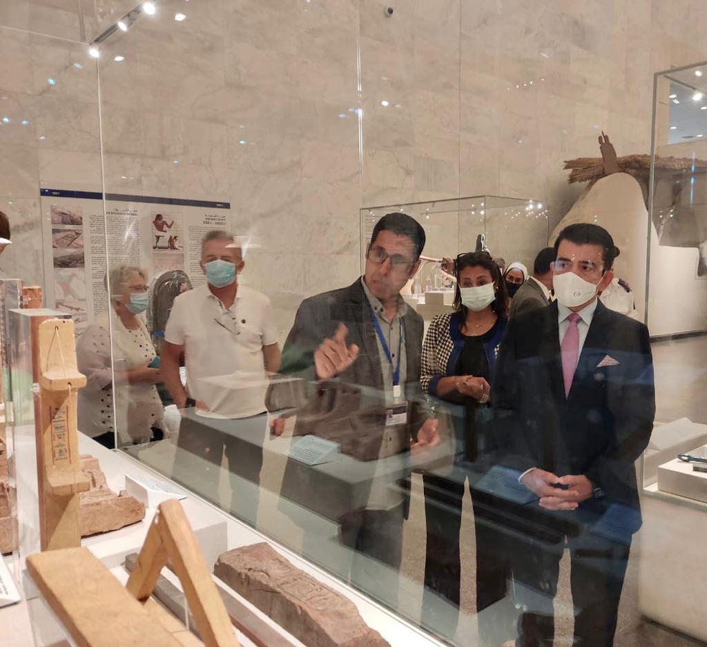 متحف الحضارة يستقبل المدير العام لمنظمة إيسيسكو