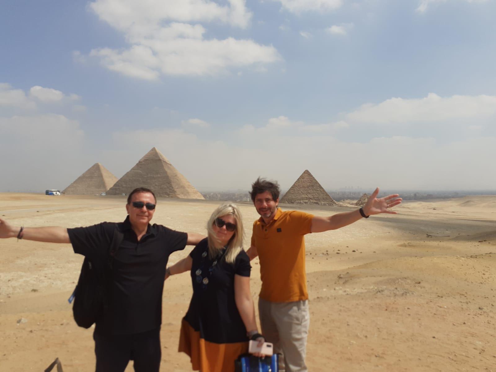 الأهرامات والمتحف المصري يستقبلان أعضاء من الاتحاد من أجل المتوسط